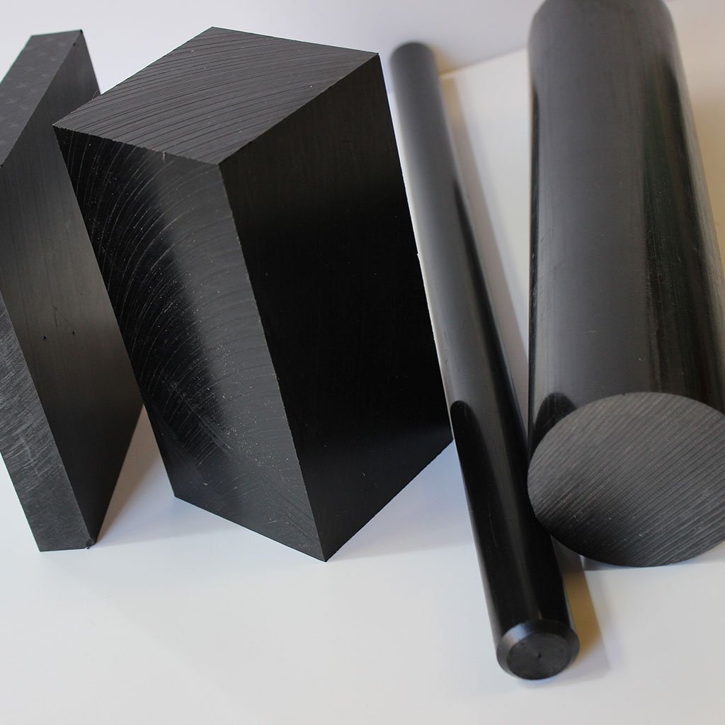 Conductive/Antistatic UHMWPE (Polyethylene) Rod